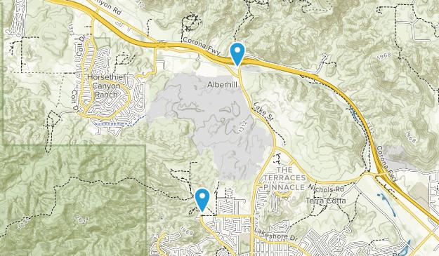 Alberhill, California Map