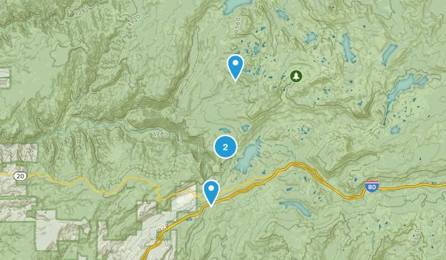 Alta, California Map