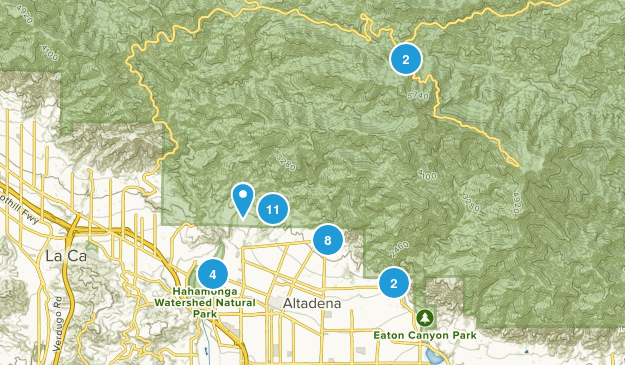 Altadena, California Map
