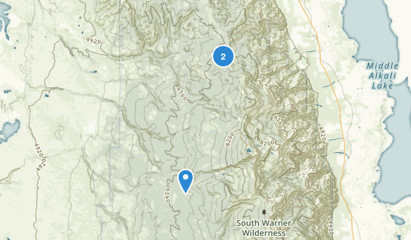 Alturas, California Map