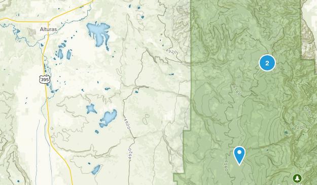 Alturas, Kalifornien Map
