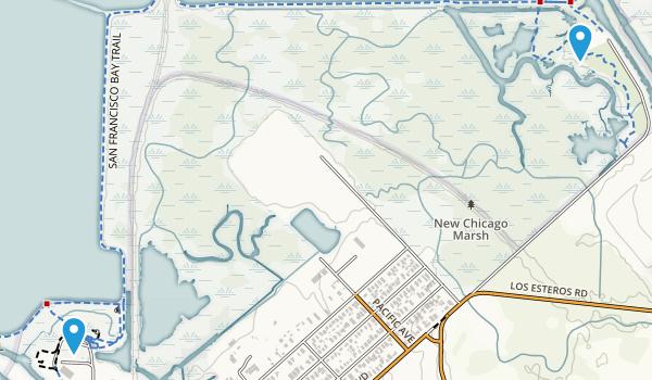 Alviso, California Map