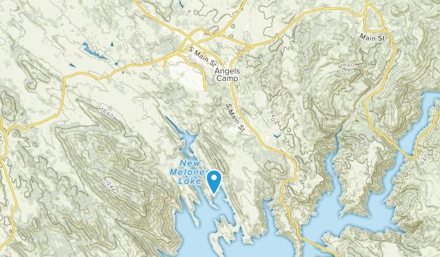 Angels Camp, California Map