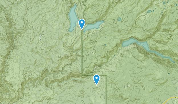 Aspen Valley, California Map