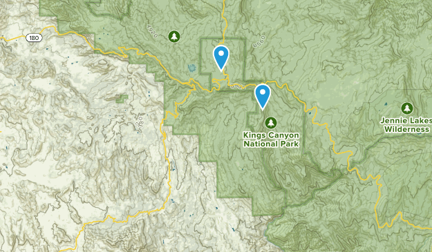 Badger, California Map