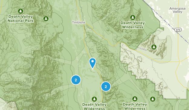 Badwater, California Map