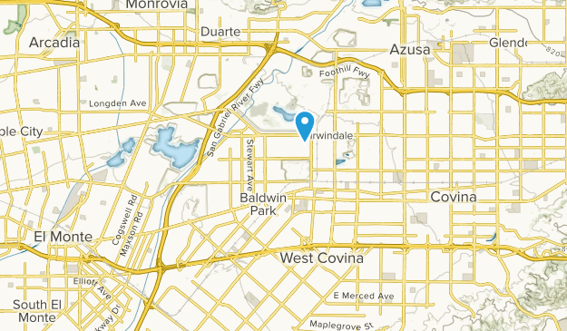 Irwindale California Map.Best Trails Near Baldwin Park California Alltrails