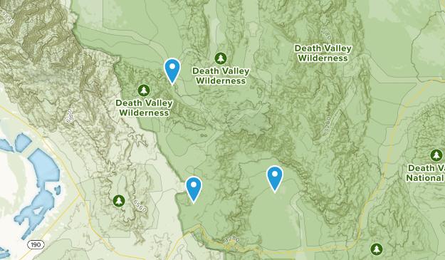 Beatty, California Map