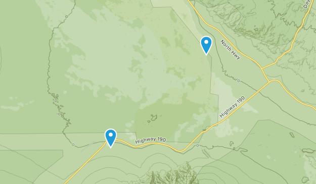 Beatty Junction, California Map