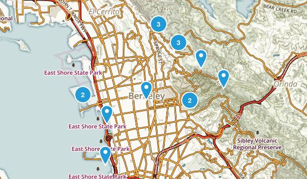 Berkeley, California Map