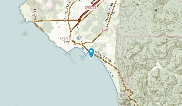 Bertsch-Oceanview, California Map