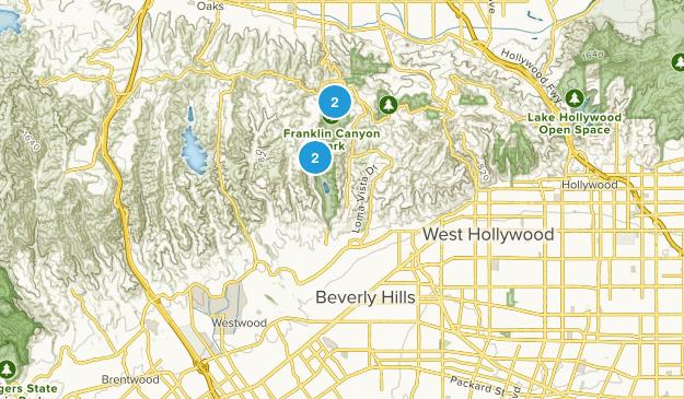 Beverly Hills, California Map