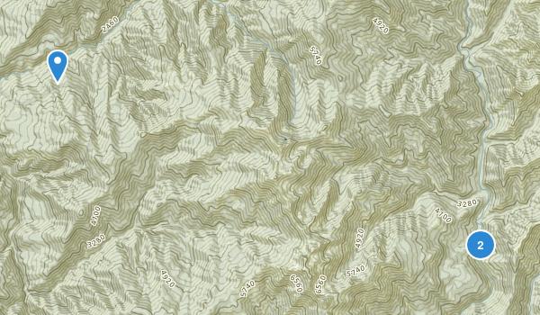 Big Bar, California Map