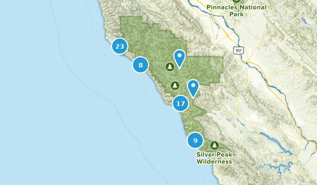 Big Sur, California Map