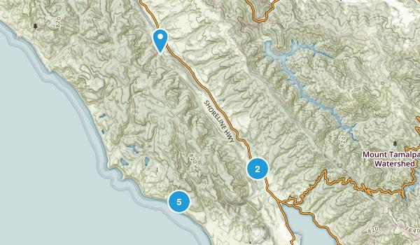 Bolinas, California Map