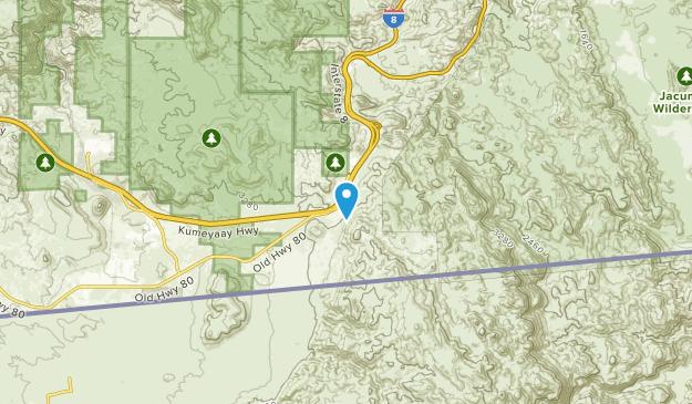 Boulder Park, California Map
