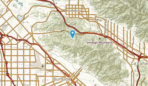 Burbank Junction, California Map