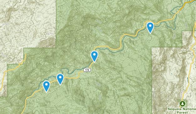 Caliente, California Map