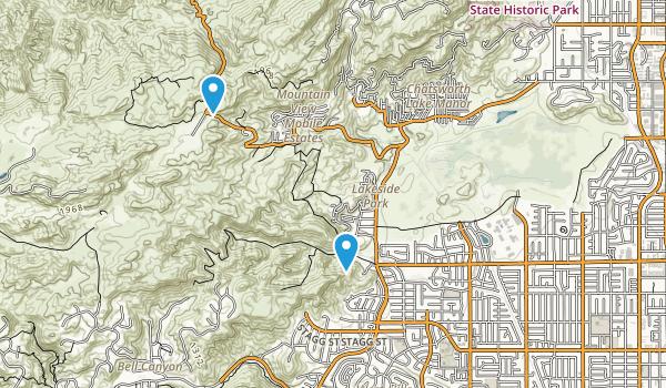 Canoga Park, California Map