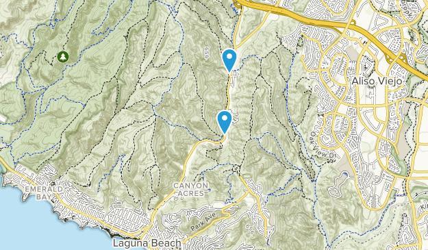 Canyon Acres, California Map