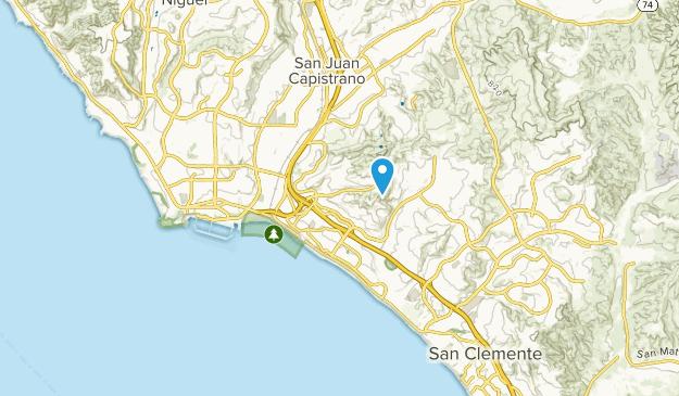 Capistrano Beach, California Map