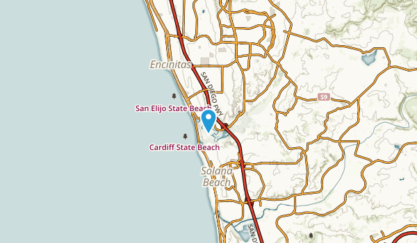 Cardiff-by-the-Sea, California Map