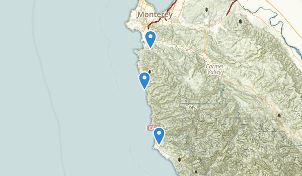 Carmel, California Map