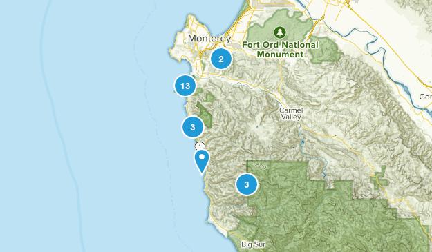 Carmel-by-the-Sea, California Map