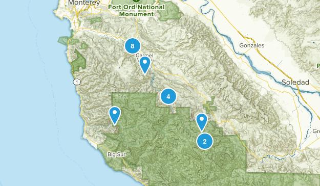 Carmel Valley, California Map