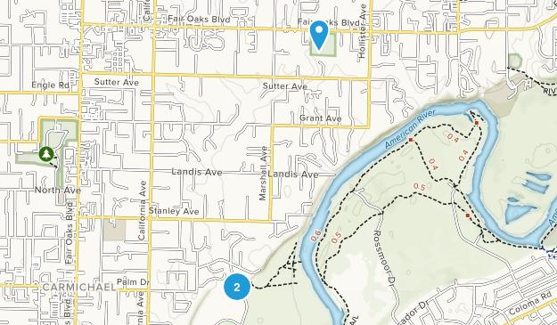 Carmichael, California Map
