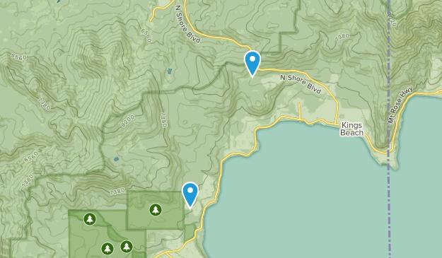 Carnelian Bay, California Map