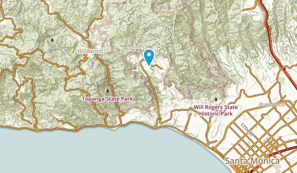 Castellammare, California Map