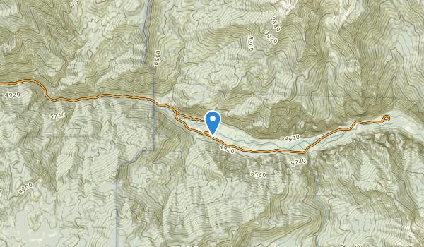 trail locations for Cedar Grove, California