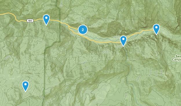 Cedar Grove, California Map