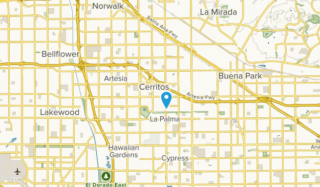 Cerritos California Map Best Trails near Cerritos, California   AllTrails