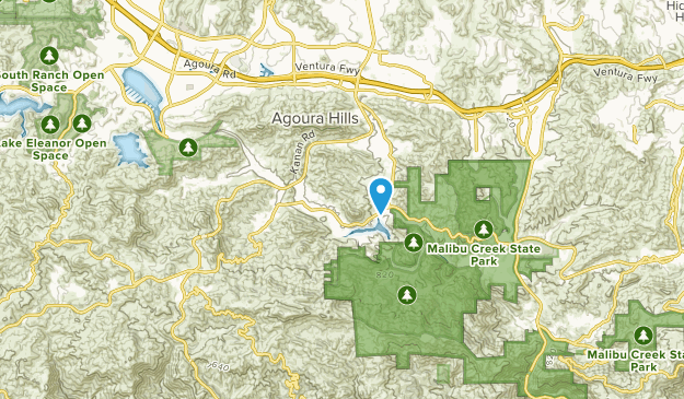 Cornell, California Map