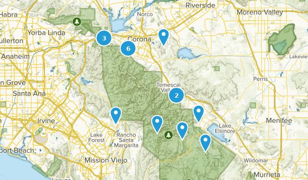 Corona, Kalifornien Map