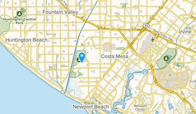 Costa Mesa California Map Best Trails near Costa Mesa, California | AllTrails