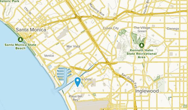 Culver City, California Map