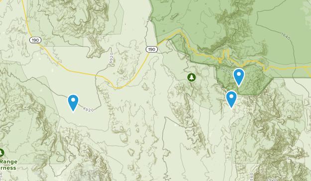Darwin, California Map