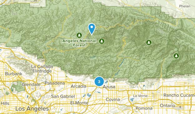 Duarte, California Map