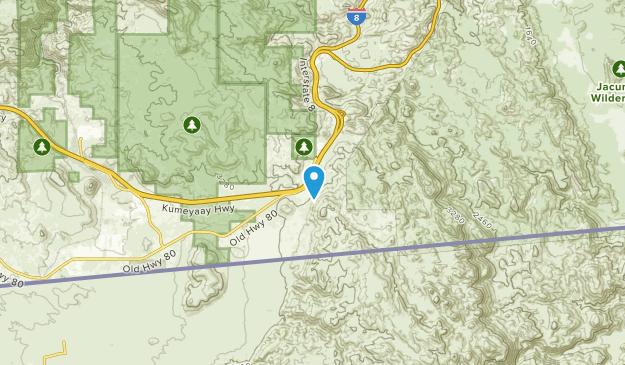 El Centro, California Map