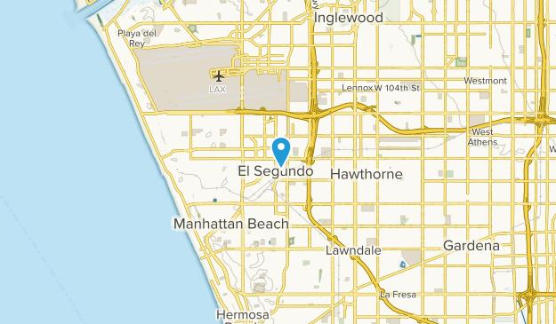 El Segundo, California Map