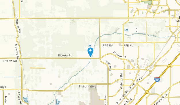 Elverta, California Map