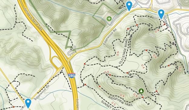 Emerald Lake Hills, California Map