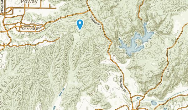 Eucalyptus Hills, California Map
