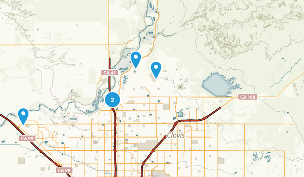 Fresno, California Map