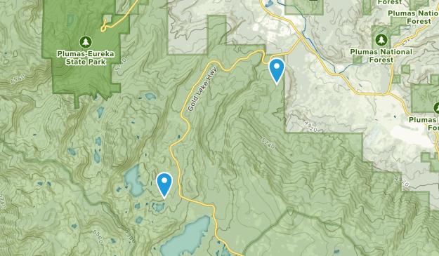 Graeagle, California Map