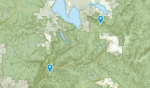 Greenville, California Map