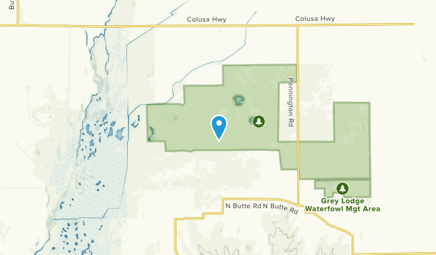 Gridley, California Map